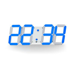 Large Led Digital Wall Clock  Show 16 group Alarms  Date Countdown Wall Clock
