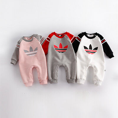 2020 Baby Kids Boy Girl Infant Romper Jumpsuit Bodysuit Cotton Clothes Outfit