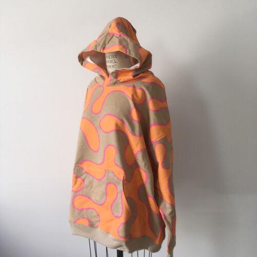 ⭕ 00s Vintage Psychedelic hoodie sweat shirt : lsd punk avant garde rave 90s 80s