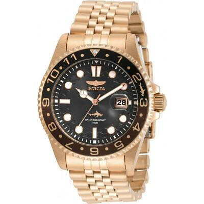 Invicta 30624 Pro Diver 43MM Men's Rose Gold-Tone Stainless Steel Watch