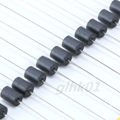 100pcs 3.5x6x0.8mm Axial Ferrite Bead Inductor Bead Ferrous Filter Core Coil