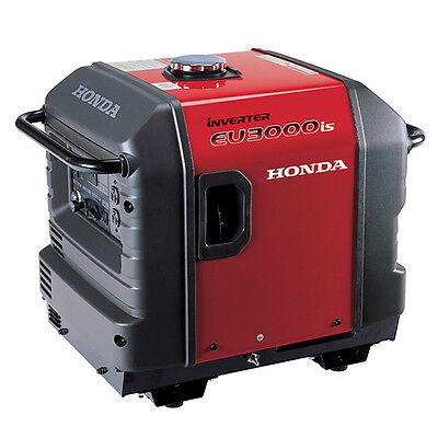 HONDA EU3000iS Restful PORTABLE GAS GENERATOR 3000 WATT