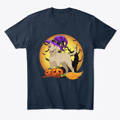 Happy Halloween Lover (Happy Labrador Halloween For Witch Lover Premium Tee)