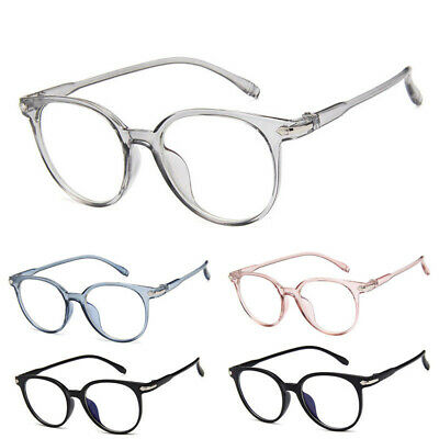 Spectacle Optical Frame Glasses Clear Lens Eyewear Eyeglasses For Women Men (Clear Spectacle Frames)
