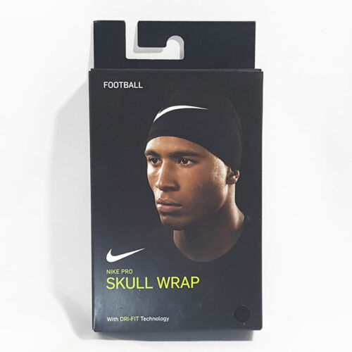 NIKE PRO   SKULL WRAP with Dri-FIT Technology   Black/Silver   Brand New