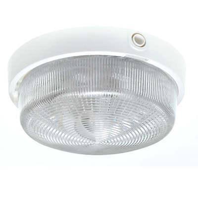 Allzweckleuchte E27 / 100W Nassraumleuchte Kellerleuchte  LENA LIGHTING weiß