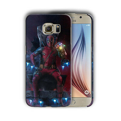 Super Hero Deadpool Samsung Galaxy S4 5 6 7 8 9 10 E Edge Note Plus Case n14