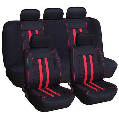 Sitzbezüge Schonbezüge Blau Schwarz Polyester neu für Toyota Peugeot Citroen