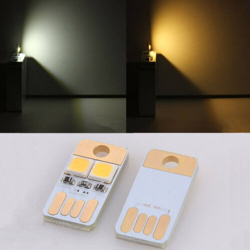 Mini NO Switch USB Night Light 2 LED Lamp Computer Gadgets Mobile Power CAD