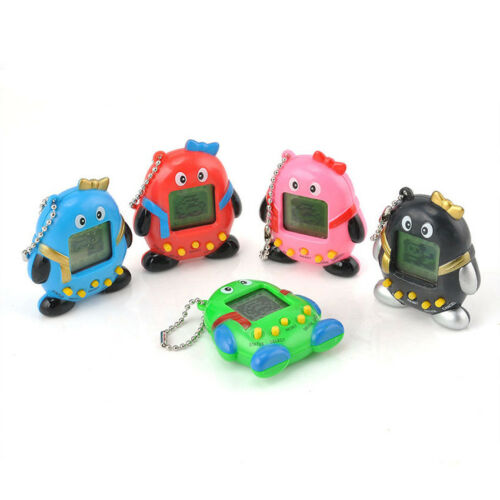 Colorful Nostalgic 168 Pets in One Virtual Cyber Pet Toy Funny Tamagotchi CA