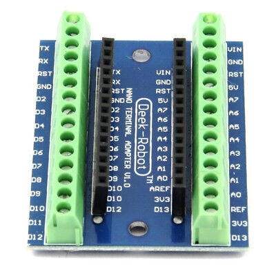 1x Nano Terminal Adapter For Arduino Nano V3.0 Avr Atmega328p-au Module Board