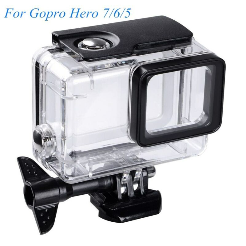 For GoPro Hero 7 Black 6 5 Waterproof Diving Camera Case Protective Shell Cover