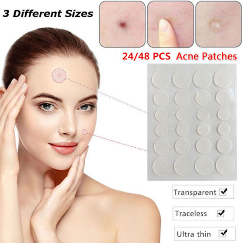 Dermopatch 24H Ache & Skin Tags Remover Set (24PC / 48PC) Pimple Patch Treatment