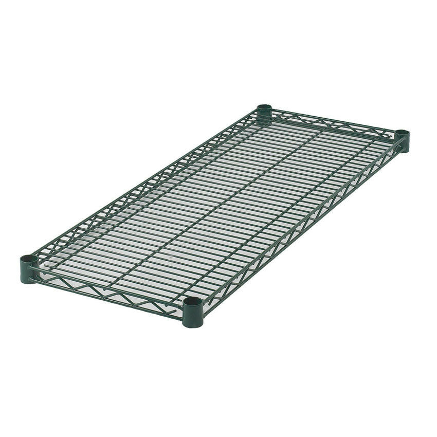 Zinc Green Coated Wire Shelf 18 Wide