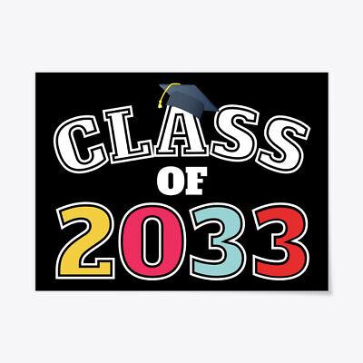 Class Of 2033 Future Pre K Graduate Gift Poster - 18