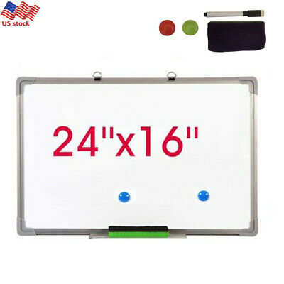 Us 24x16 Magnetic Dry Erase Board Whiteboard Marker Set Office Notice Kid Study