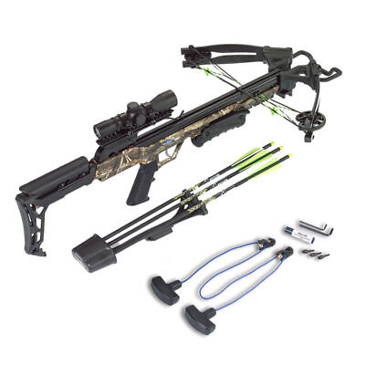 Carbon Express Crossbow X Force Blade Camo Ready To Hunt Kit 320Fps 20244