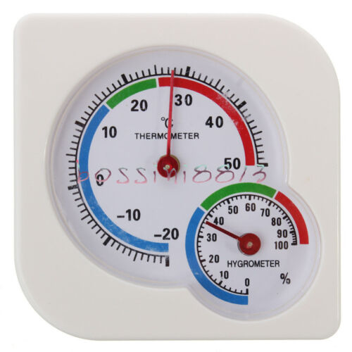 Indoor Outdoor MIni Wet Hygrometer Humidity Thermometer Temp Temperature Meter B
