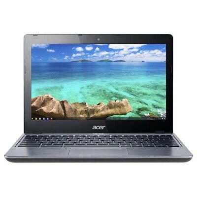 "Acer Chromebook 11.6"" Intel Celeron 1.40 GHz 2GB Ram 16GB SSD Chrome OS C720-295"