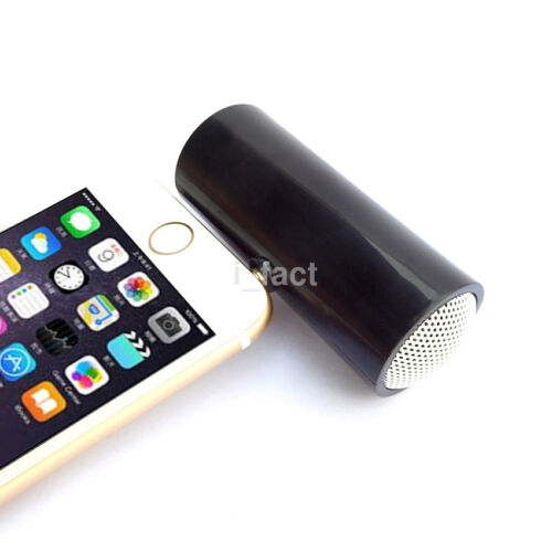 New Portable Stereo Mini Speaker 3.5mm Jack Plug In For Phone Laptop Tablet MP3