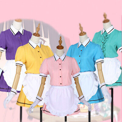 Blend S Cosplay Costume Hideri Kanzaki Maika Sakuranomiya Maid Cafe Waitress