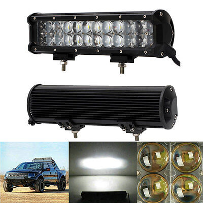 12 Inch 120W OSRAM LED Flood Spot Combo Work Light Bar Offroad Driving 4WD Truck