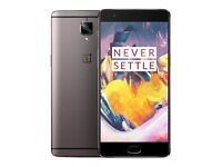 Oneplus 3T A3010 64GB Android Graphite Smartphone Unlocked boxed