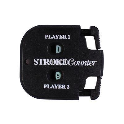 (1X Pocket Golf Stroke Shot Putt Score Counter Scorekeeper Golfing Accessories US)