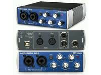 Presonus Audiobox Audio Interface (ONO)