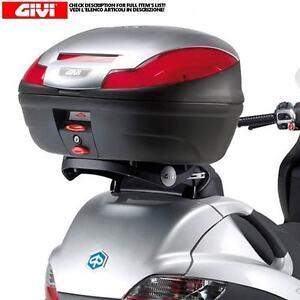 SET-GIVI-SOPORTE-E-BAULETTO-E470-PLATA-PIAGGIO-125-MP3-Berlina-Touring-es-decir
