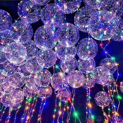 LED Light UP Balloons Wedding  Graduation  Wedding Rave Party Club - Graduation Balloons