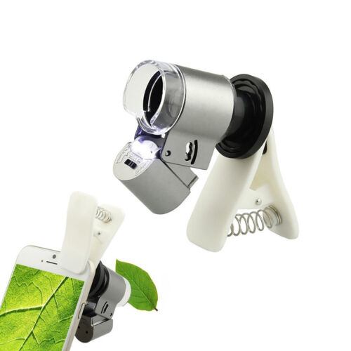 LED phone 65X Microscope Magnifier Micro Lens Optical Zoom For iPhone Samsung