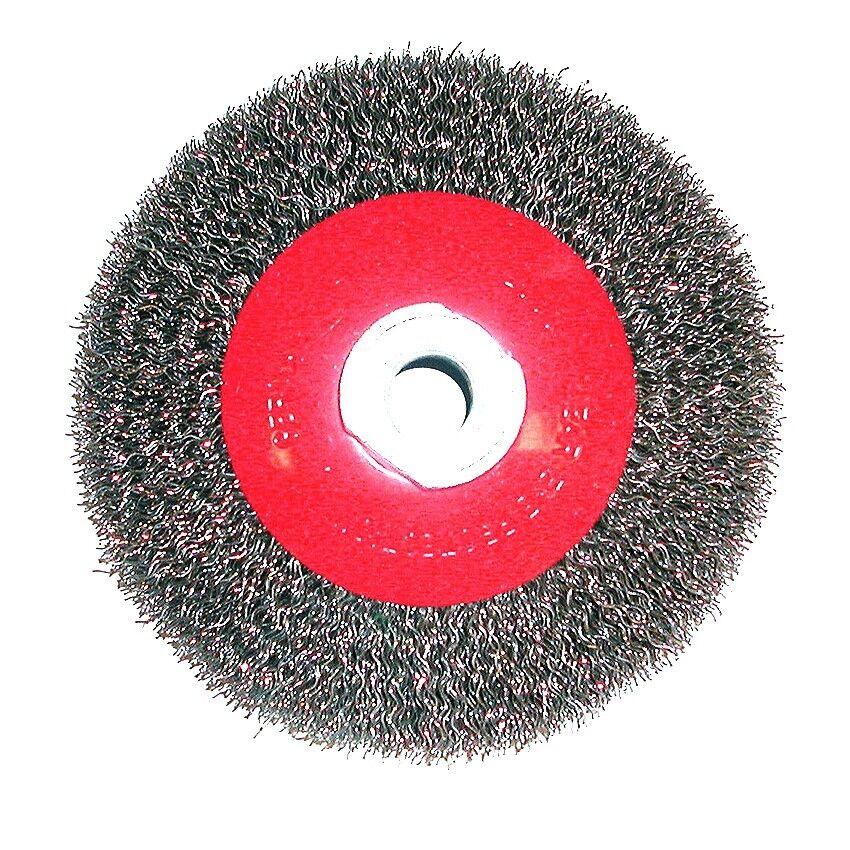 Kegelbürste 100mm Drahtbürsten M14 Gewinde Dronco Stahlbürste Winkleschleifer 4