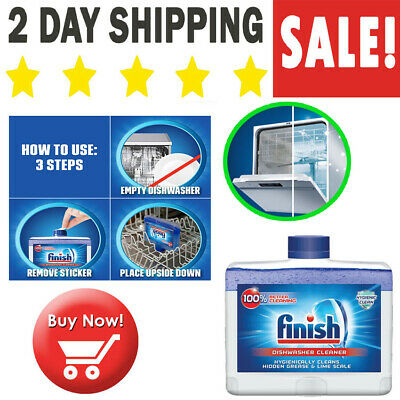 NEW Affresh Finish Dishwasher Cleaner Dual Action Fight Grease & Limescale (Dual Action Cleaner Polish)