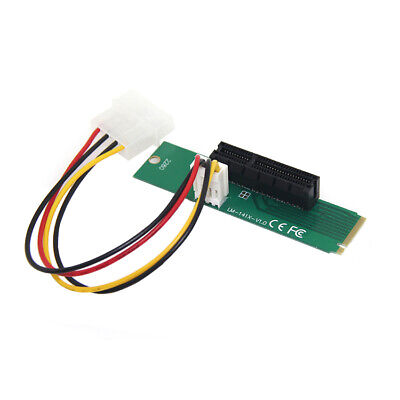 Drive Cable High Speed PCI-e 1X/4x Card To NGFF M.2 M Key PCIe Slot Best