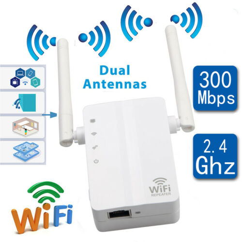 Wireless 300MBPS N 802.11 AP Wifi Range Router Repeater Extender Booster US Plug