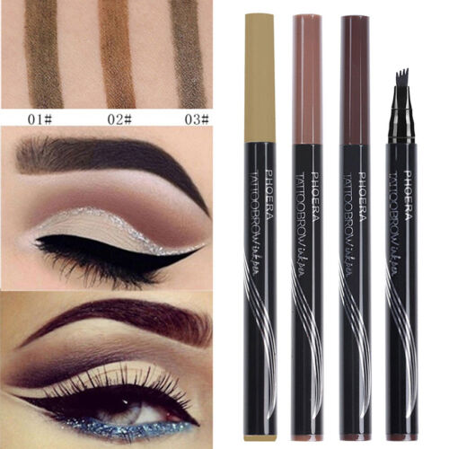 Waterproof Tattoo Pen Semi Permanent Makeup Eyebrow Pencil Microblading Tools