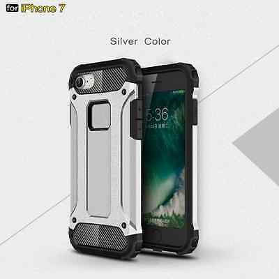 Man's Thin Shockproof Armor Rubber Hard Case Cover Skin For iphone 5 6 7Plus US