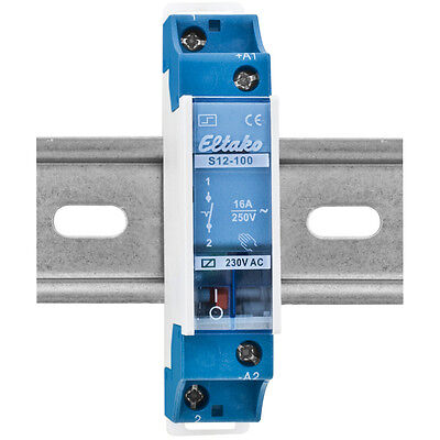 Stromstoßschalter, S12-100-230V, 250V/16A