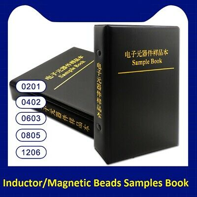 02010402060308051206 Inductormagnetic Beads Samples Book Assort Kit
