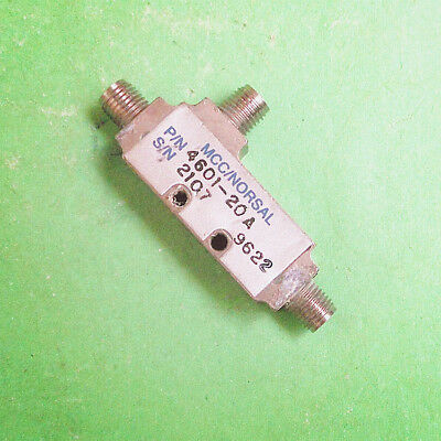 1pc MCC 4601-20A 2-4GHz 20dB SMA RF Coaxial Directional Coupler