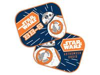 Links Neu 2 Star Wars Clone Wars Auto Sonnenschutz Kinder Seitenschutz Rechts