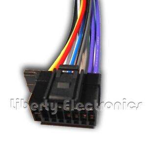 new 16 pin wire harness for sony mex n5000bt player