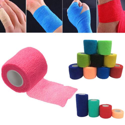 Self-adhesive Elastic Bandage Wrap First Aid Medical Athletic Gauze Tape Finger