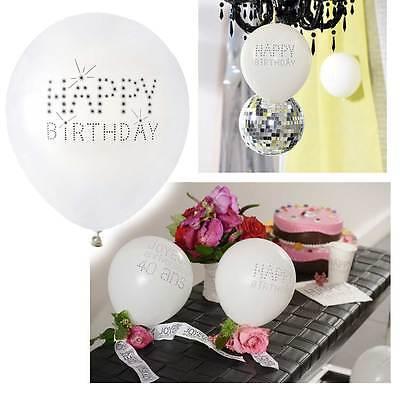 Black & White Ballons