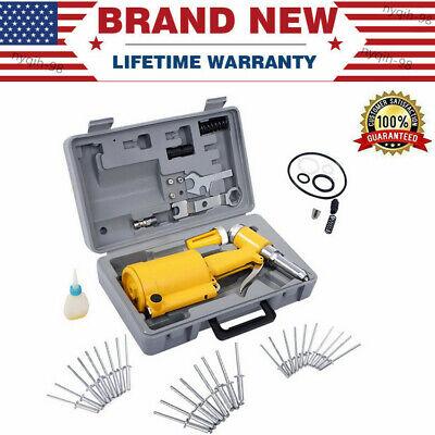 Pneumatic 316air Hydraulic Pop Rivet Gun Riveter Riveting Tool Wcase Portable