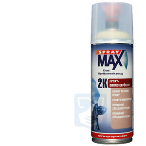 spraymax ep 2k grundierung spraydose schwarz epoxy grundierf ller spr hdose ebay. Black Bedroom Furniture Sets. Home Design Ideas