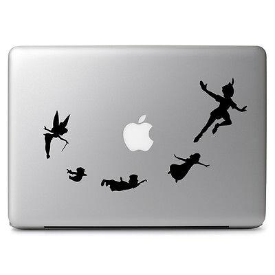 Peter Pan Flying Tinkerbell for Macbook Air/Pro Laptop Car Vinyl Decal Sticker