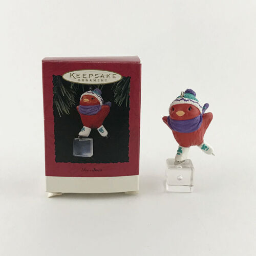 Hallmark Ice Show 1994 Keepsake Christmas Ornament Skating Cardinal Chick