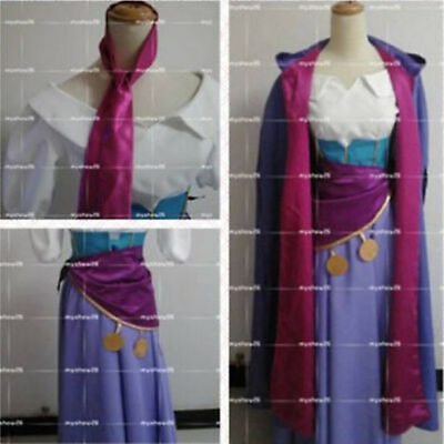 The Hunchback of Notre Dame Esmeralda dress Halloween Carnival Cosplay Costume :